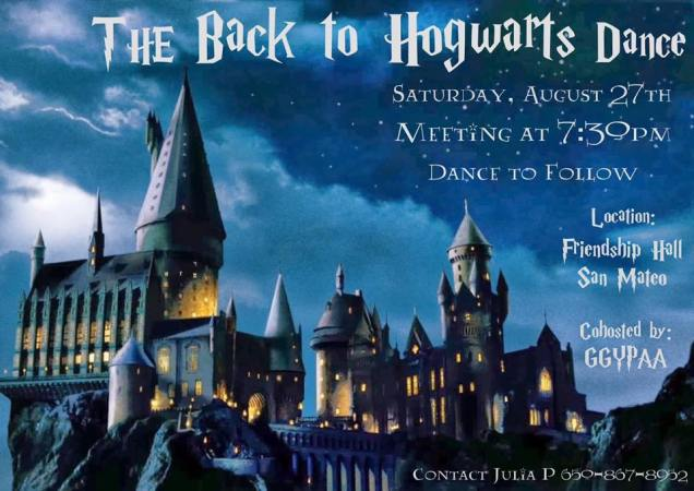Aug27,2016 GGYPAA Hogwarts Dance